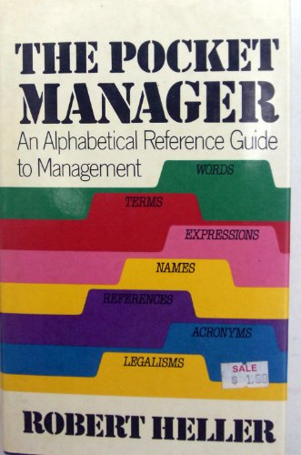 Pocket Manager: 2 (0525242953) by Robert Heller