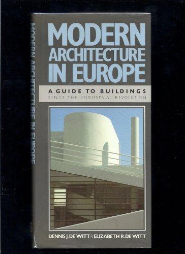 9780525244158: Modern Architecture in Europe