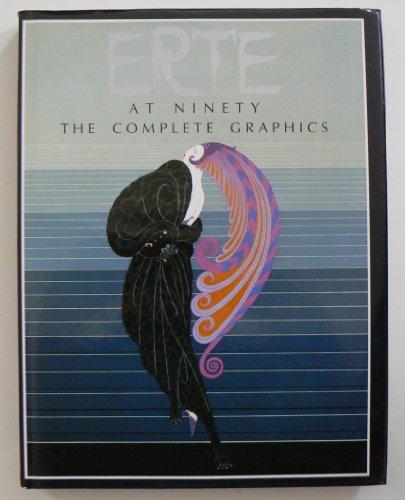 Erte At Ninety the Complete Graphics: Erte