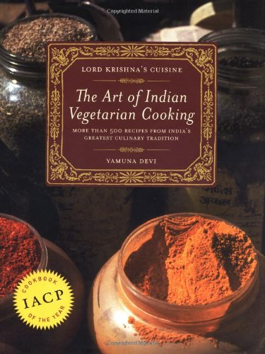 9780525245643: Lord Krishna's Cuisine: The Art of Indian Vegetarian Cooking