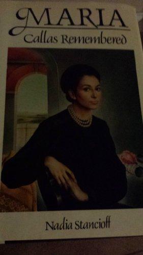 9780525245650: Maria: Callas Remembered