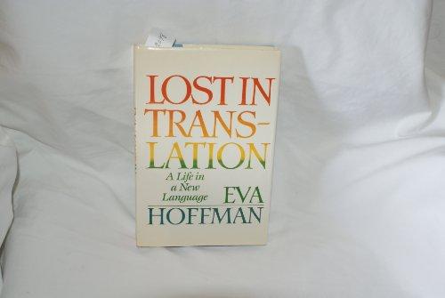 9780525246015: Hoffman EVA : Lost in Translation (Hbk)