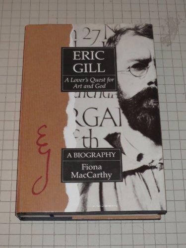9780525247357: Maccarthy Fiona : Eric Gill (Hbk)
