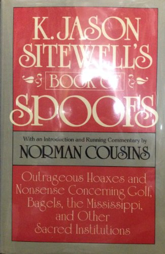 9780525247777: Cousins Norman : K. Jason Sitewell'S Book of Spoofs(Hbk)
