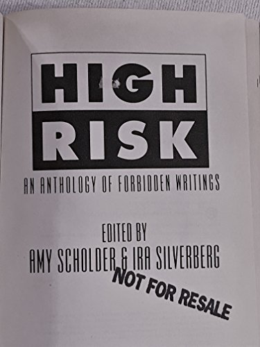 9780525249665: High Risk: 2An Anthology of Forbidden Writings