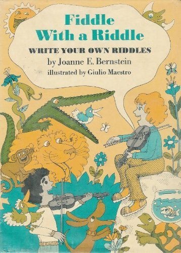 9780525296782: Fiddle with a Riddle: Write Your Own Riddles