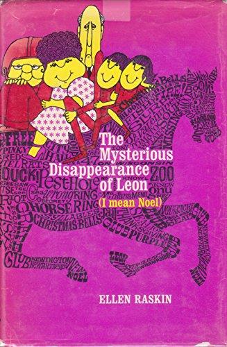 9780525355403: Raskin Ellen : Mysterious Disappearance of Leon/HB (I Mean Noel.)