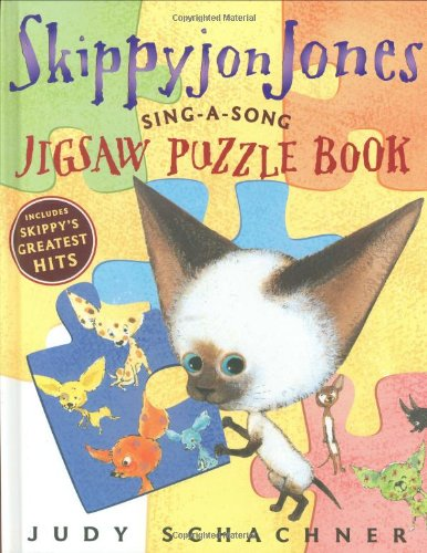 Skippyjon Jones Sing-A-Song Puzzle Book: Schachner, Judy