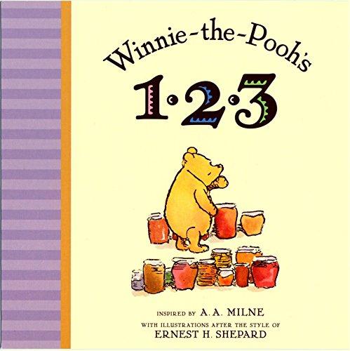 9780525420842: Winnie the Pooh's 1,2,3