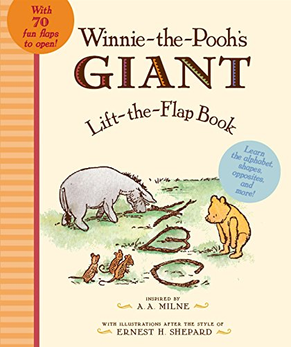 9780525420880: Winnie-The-Pooh's GIANT Lift-The-Flap Book