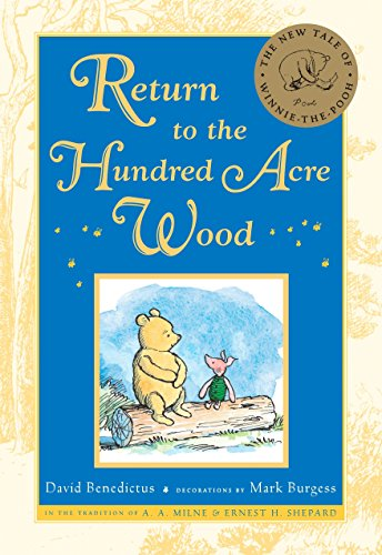9780525421603: Return to the Hundred Acre Wood