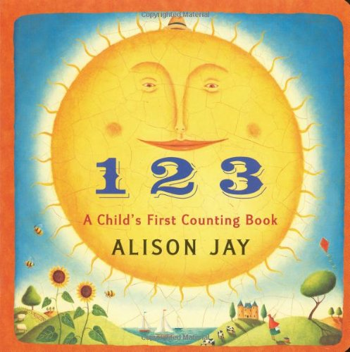 9780525421658: 1 2 3 A Child's First Counting Book