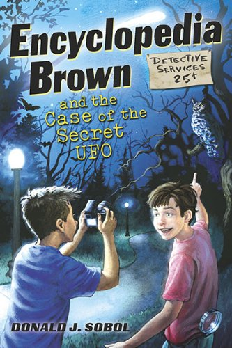 9780525422105: Encyclopedia Brown and the Case of the Secret UFOs