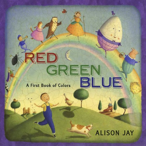 9780525423034: Red, Green, Blue: a First Book of Colors