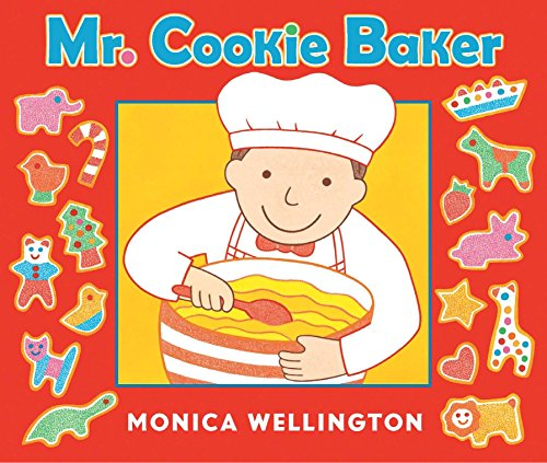 9780525423720: Mr. Cookie Baker (Board Book Edition)