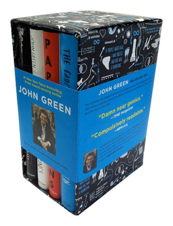 9780525426134: John Green Limited Edition Boxed Set (autographed)