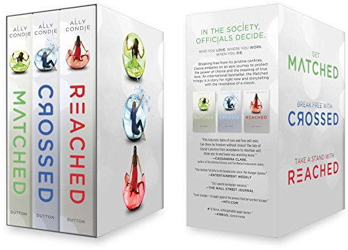 Matched Trilogy boxed Set; Matched, Crossed, Reached: Condie, Ally