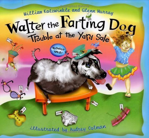 9780525439639: Trouble at the Yard Sale (Walter the Farting Dog)