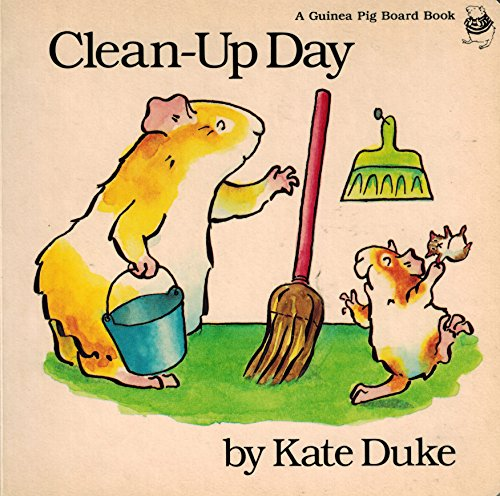 9780525442080: Clean-up Day: 2 (Guinea Pig Board Books)