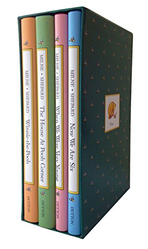 9780525444510: Pooh's Library: Winnie-The-Pooh, The House At Pooh Corner, When We Were Very Young, Now We Are Six (Pooh Original Edition)