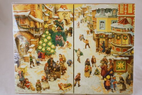 9780525447481: The Village Christmas: An Old-Fashioned Advent Calendar
