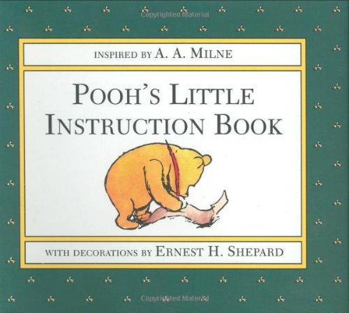 9780525453666: Pooh's Little Instruction Book