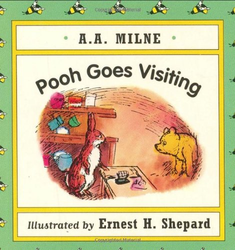 9780525455271: Pooh Goes Visiting Mini Board Book