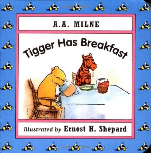 9780525455295: Tigger Has Breakfast Mini Board Book (Winnie-the-Pooh)