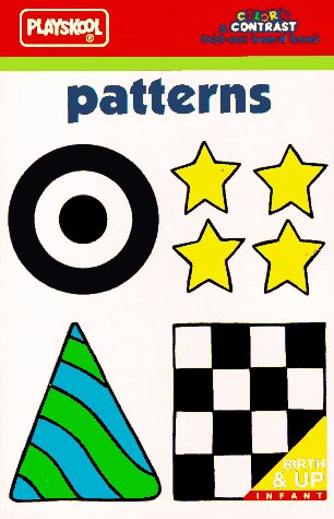 Color 'n Contrast: Patterns Board Book (Color'n Contrast Fold-Out Board Book): Playskool