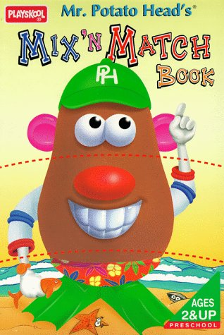 9780525455509: Mr. Potato Head's Mix `N' Match Book