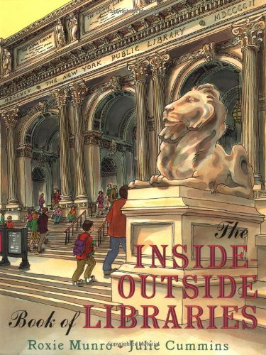 9780525456087: The Inside-Outside Book of Libraries