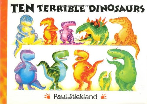9780525459057: Ten Terrible Dinosaurs