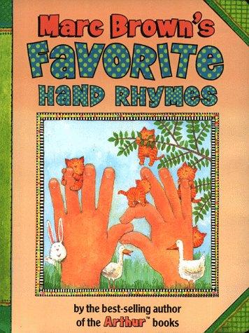 9780525459972: Marc Brown's Favorite Hand Rhymes