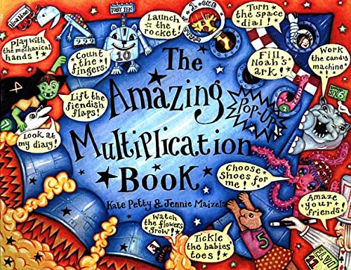 9780525459989: The Amazing Pop-Up Multiplication Book