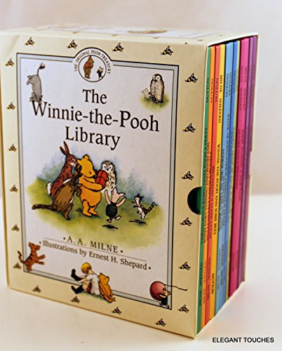 The Winnie-The-Pooh Library (12 books): A A Milne