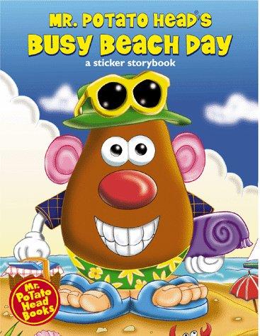 Mr. Potato Head's Busy Beach Day (Mr. Potato Head Sticker Storybooks): Playskool