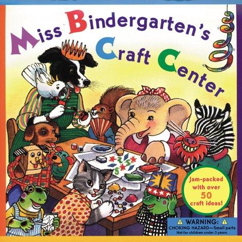 9780525462576: Miss Bindergarten Craft Center (Miss Bindergarten Books)