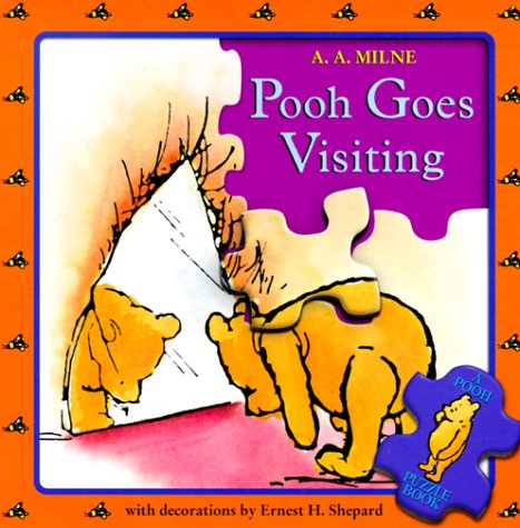 POOH GOES VISITING, Puzzle Book: Pooh Puzzle Book (Winnie-the-Pooh)