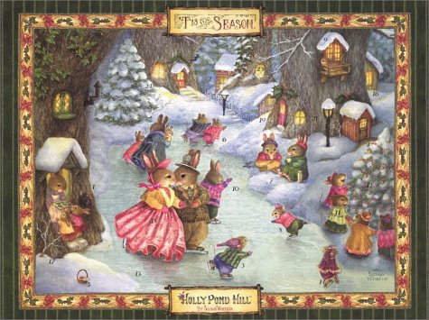 Holly Pond Hill Advent Calendar (0525463925) by Paul Kortepeter