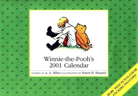 9780525464013: Winnie-the-Pooh's 2001 Calendar