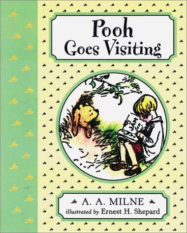 9780525464570: Pooh Goes Visiting (Winnie-The-Pooh Deluxe Picture Books)