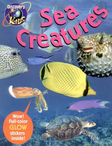 9780525464716: SEA CREATURES, Glow-in-the-Dark Sticker Book (Dark Sticker Books)