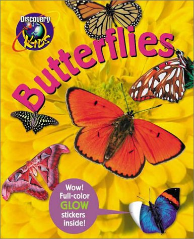 9780525464723: BUTTERFLIES, Glow-in-the-Dark Sticker Book (Dark Sticker Books)