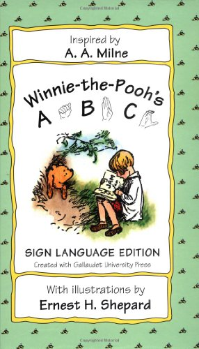 9780525467144: Winnie-The-Pooh ABC: Sign Language Edition