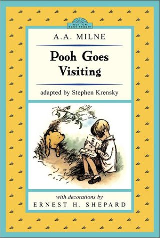 9780525468219: Pooh Goes Visiting: Winnie-The-Pooh Easy-To-Read (Dutton Easy Reader)