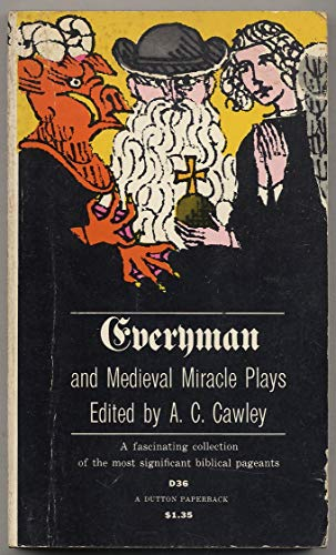 9780525470366: Everyman and Medieval Miracle Plays