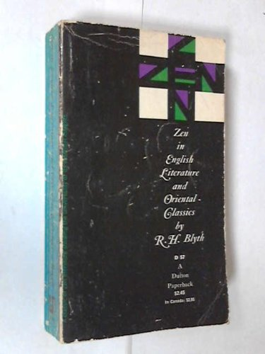 9780525470571: Zen in English Literature and Oriental Classics (A Dutton Paperback)