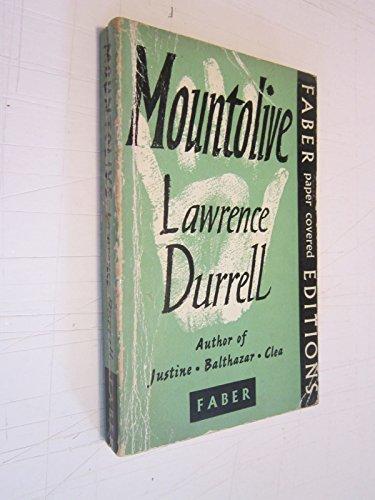 9780525470823: Mountolive (Alexandria Quartet, Bk. 3)