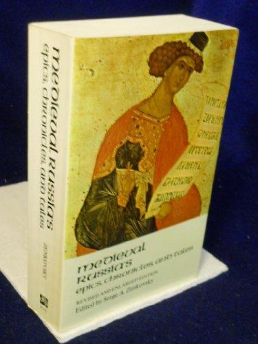 9780525473633: Zenkovsky Serge Ed. : Med. Russia'S Epics, Chronicles, & Tales