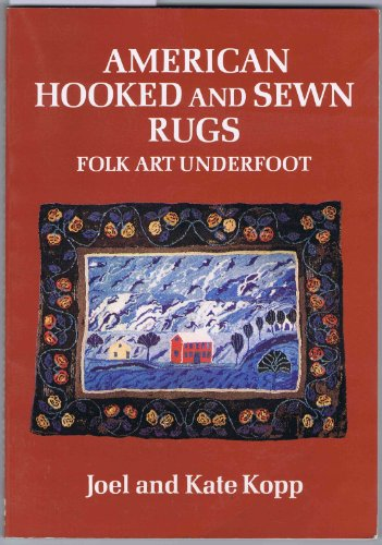 9780525474050: American Hooked and Sewn Rugs